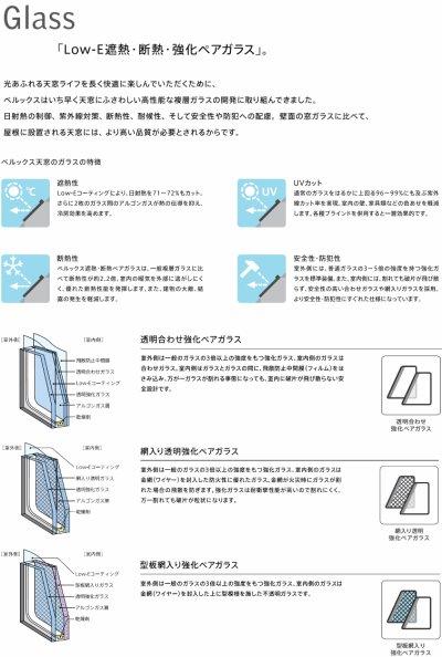 画像2: ベルックス天窓 VS電動タイプ
