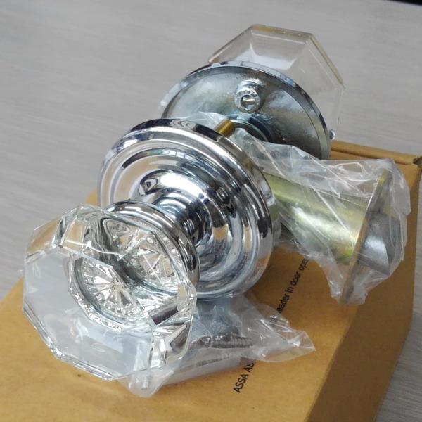 画像1: エムテック 簡易錠兼用ドアノブ 8200-OT-US26 (1)