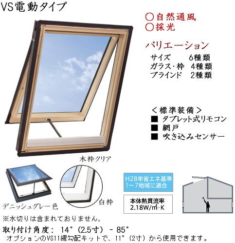 画像1: ベルックス天窓 VS電動タイプ (1)
